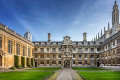 Clare College in Cambridge Stock Image