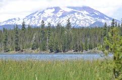 Lawowy jezioro w Oregon Zdjęcia Royalty Free