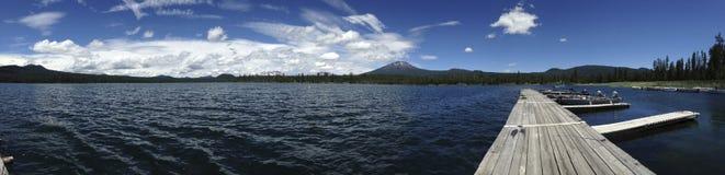 Lawowy jezioro w Oregon Zdjęcie Stock
