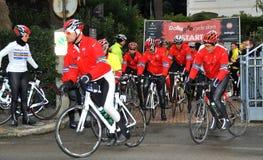 Lawrence Dallaglio Cycle Slam Royalty Free Stock Photo