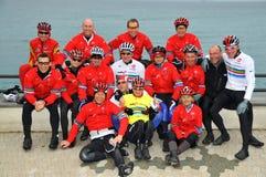 Lawrence Dallaglio cycle slam team Stock Photos
