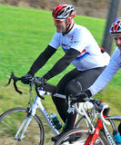 Lawrence Dallaglio in de Slag van de Cyclus Dallaglio stock foto's