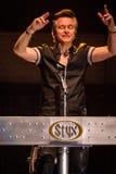 Lawrence Gowan de STYX em Califórnia Fotos de Stock