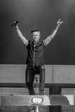 Lawrence Gowan de STYX que executa no concerto de Califórnia Fotos de Stock Royalty Free