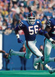 Lawrence Taylor. New York Giants LB Lawrence Taylor, #56. (Image taken from a color slide Royalty Free Stock Photos