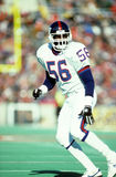 Lawrence Taylor. New York Giants LB Lawrence Taylor, #56. (Image taken from a color slide Stock Photos