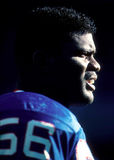 Lawrence Taylor. New York Giants LB Lawrence Taylor, #56. (Image taken from a color slide Stock Image