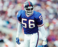 Lawrence Taylor. New York Giants LB Lawrence Taylor. (Image taken from color slide Royalty Free Stock Images