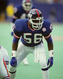 Lawrence Taylor. New York Giants legend Lawrence Taylor. (Image taken from color slide royalty free stock image