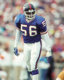 Lawrence Taylor. New York Giants legend Lawrence Taylor, #56.  (image taken from color slide Royalty Free Stock Photos