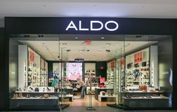 Aldo store front royalty free stock photography