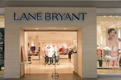 Lane Bryant store front royalty free stock image