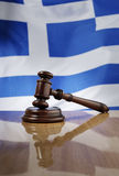 The Laws of Greece Royalty Free Stock Image