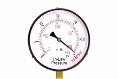 In-laws Pressure Gauge. A conceputal stress gauge of in-laws pressure Royalty Free Stock Images