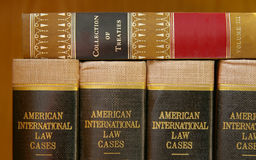 Laws and treaties Stock Photo