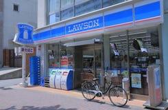 Lawson Convenience-Speicher Japan Stockbilder