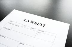 Lawsuit Royalty Free Stock Photos