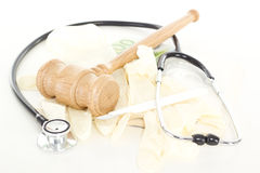 Lawsuit against corruption in health system Royalty Free Stock Images