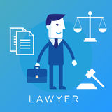 Lawyer, attorney or jurist concept background Royalty Free Stock Image