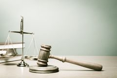 Lawyer. Court law scale banner legal gavel stock images