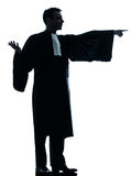 Lawyer man pleading Royalty Free Stock Image