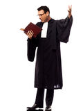 Lawyer man pleading Royalty Free Stock Photography