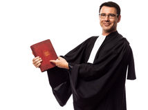 Lawyer man portrait Royalty Free Stock Photo