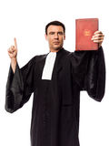 Lawyer man portrait Stock Image