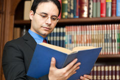 Lawyer portrait Royalty Free Stock Images