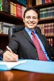 Lawyer portrait Stock Photography