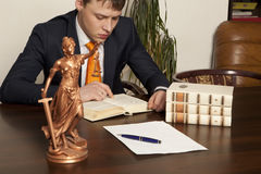 Lawyer Stock Image