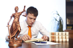 Lawyer Royalty Free Stock Photo