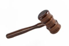 Lawyer's hammer Royalty Free Stock Images