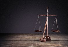 Lawyer. Scale legal law court room background stock image