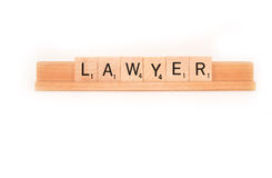 Lawyer spelling Stock Photos