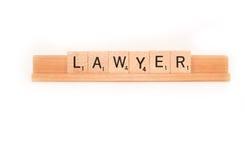 Lawyer spelling Stock Photos