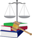 Lawyer Symbols Royalty Free Stock Photography