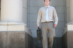 Lawyer walking Stock Images