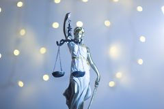 Lawyers justice legal office statue royalty free stock photography