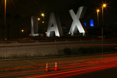 LAX Airport Sign Stock Image
