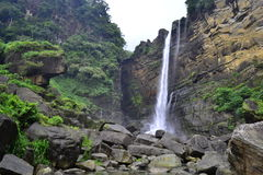 Laxapana falls Sri lanka Stock Photo