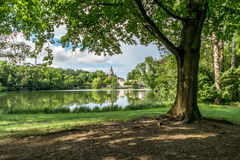 Laxenburg Castle gardens near Vienna, Austria Royalty Free Stock Photo