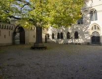 Laxenburg slott från inre royaltyfri fotografi
