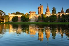 Laxenburg Water Castle Royalty Free Stock Photo