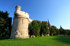 Laxenburg Water Castle - Tower Stock Photo