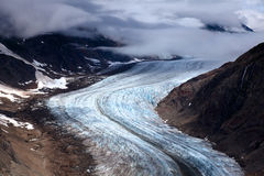 Laxglaciär arkivfoton