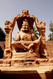 laxmi narsimha寺庙 库存图片
