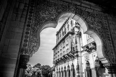 Laxmi Vilas Palace details Stock Photography