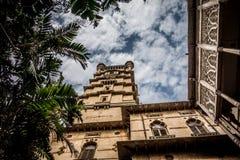 Laxmi Vilas Palace-Hof Lizenzfreie Stockfotos