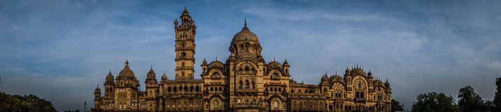 Laxmi Vilas Palace Panorama Stock Photography